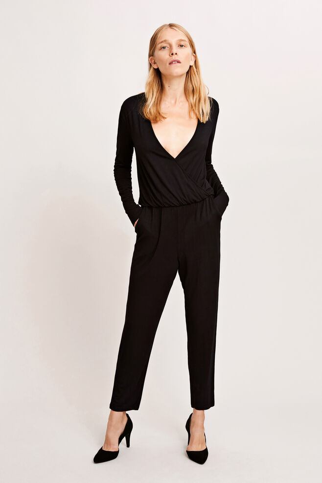 Fanni jumpsuit 8058, BLACK