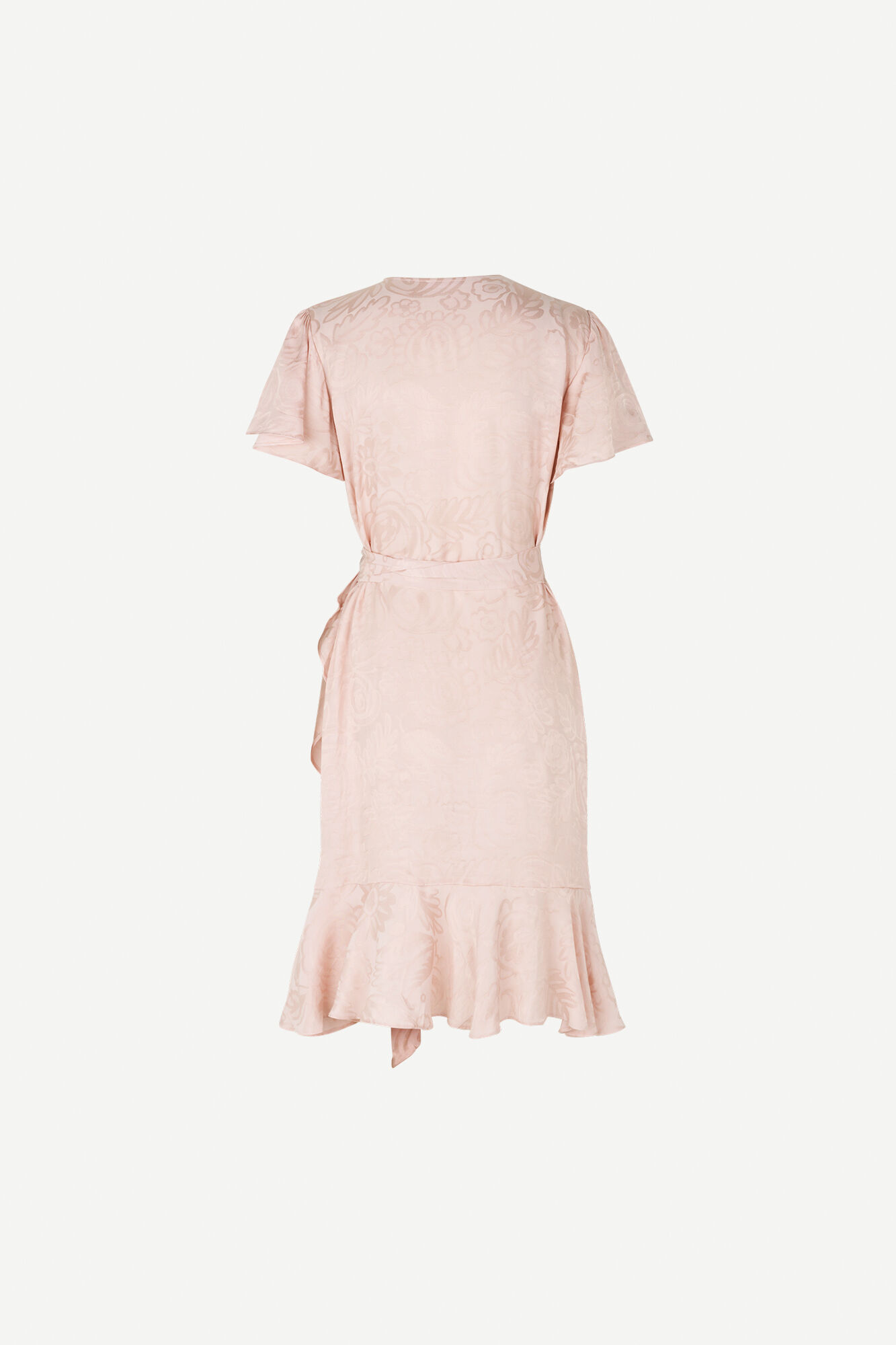 Adelia ss wrap dress 12696