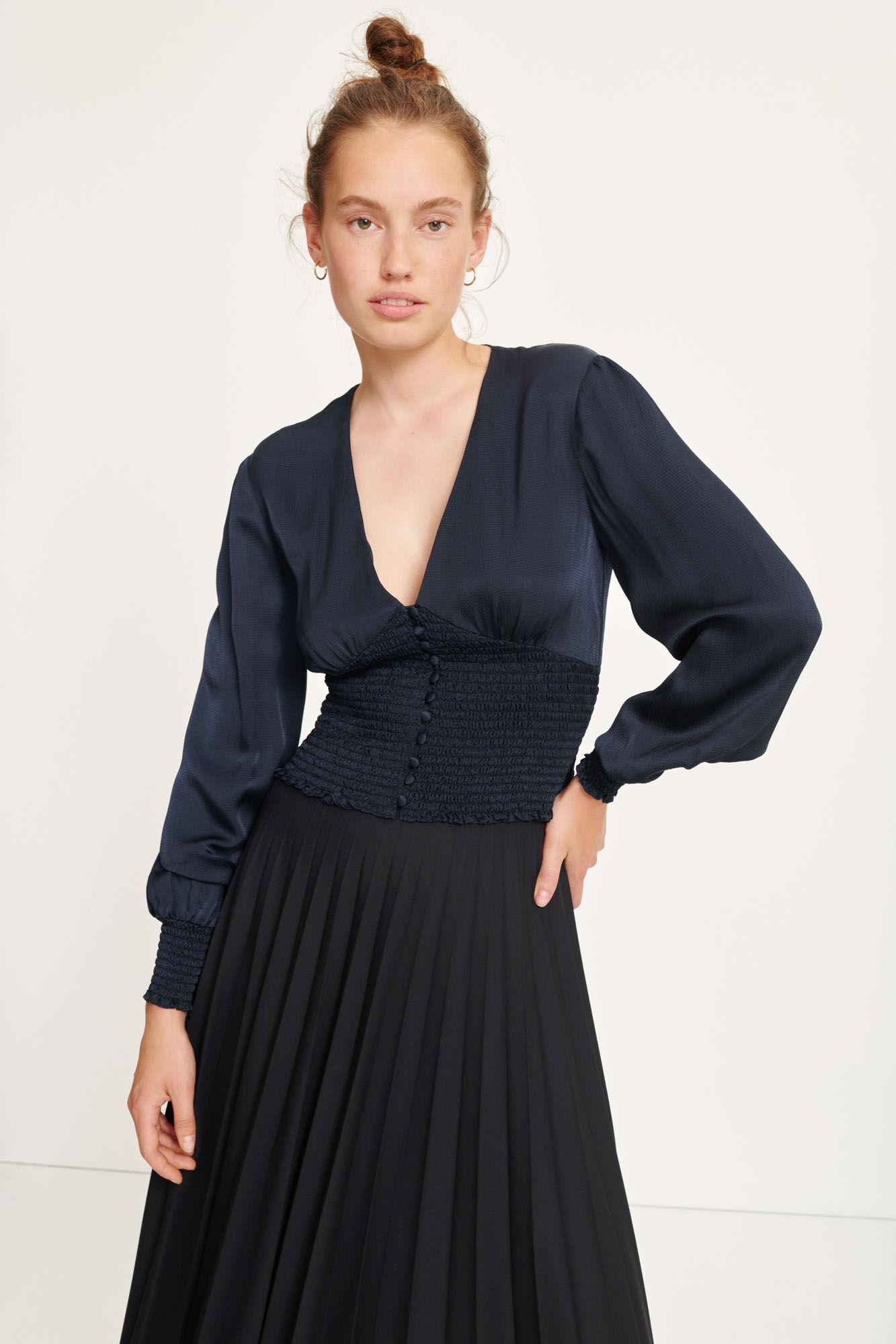 Pierette skirt 12997, BLACK