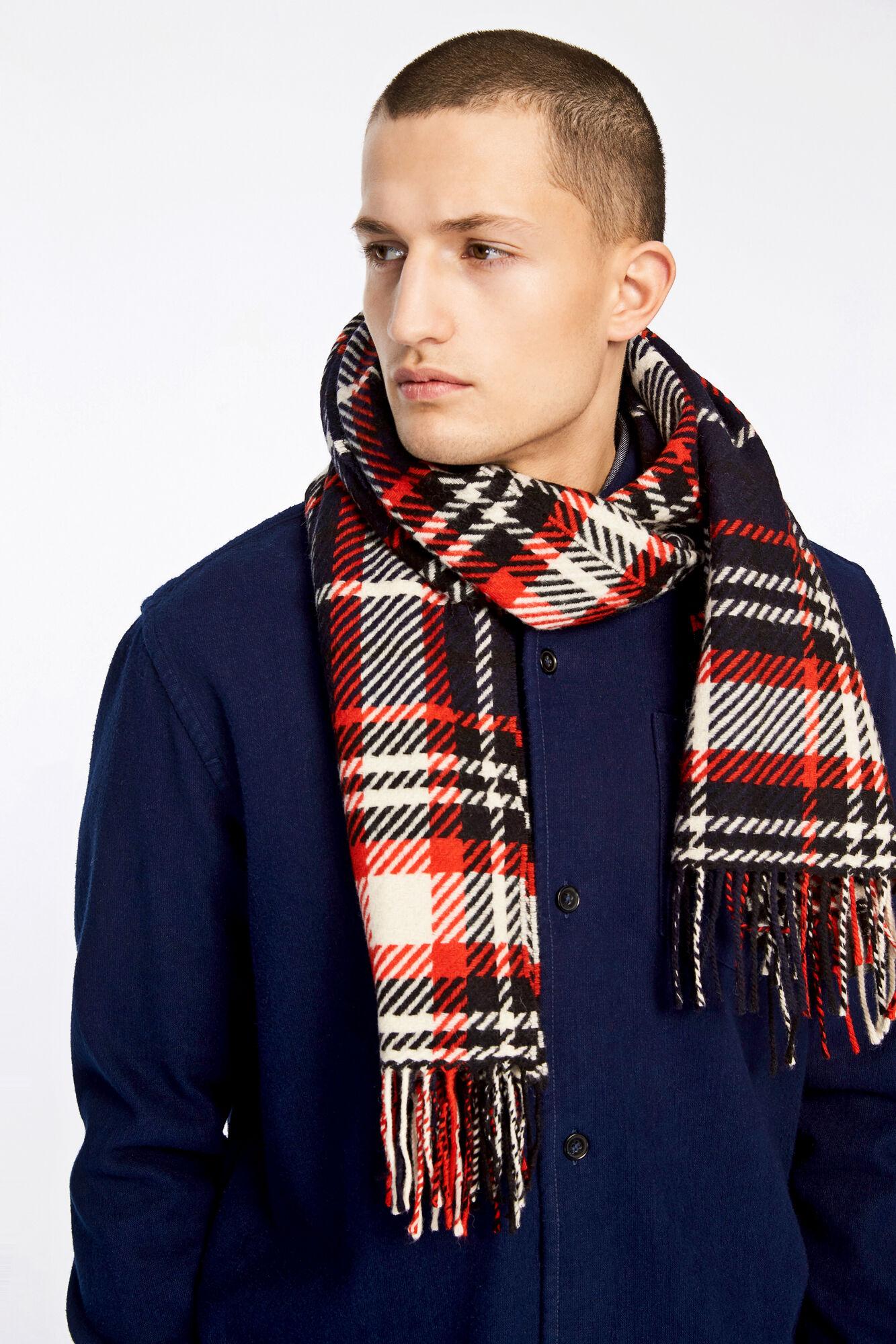 Brassy scarf 9411, DARK SAPPHIRE
