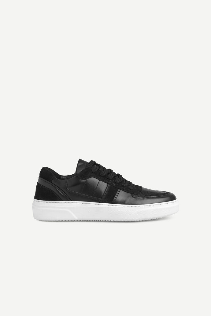 Becker sneaker mix 11399, BLACK WHITE