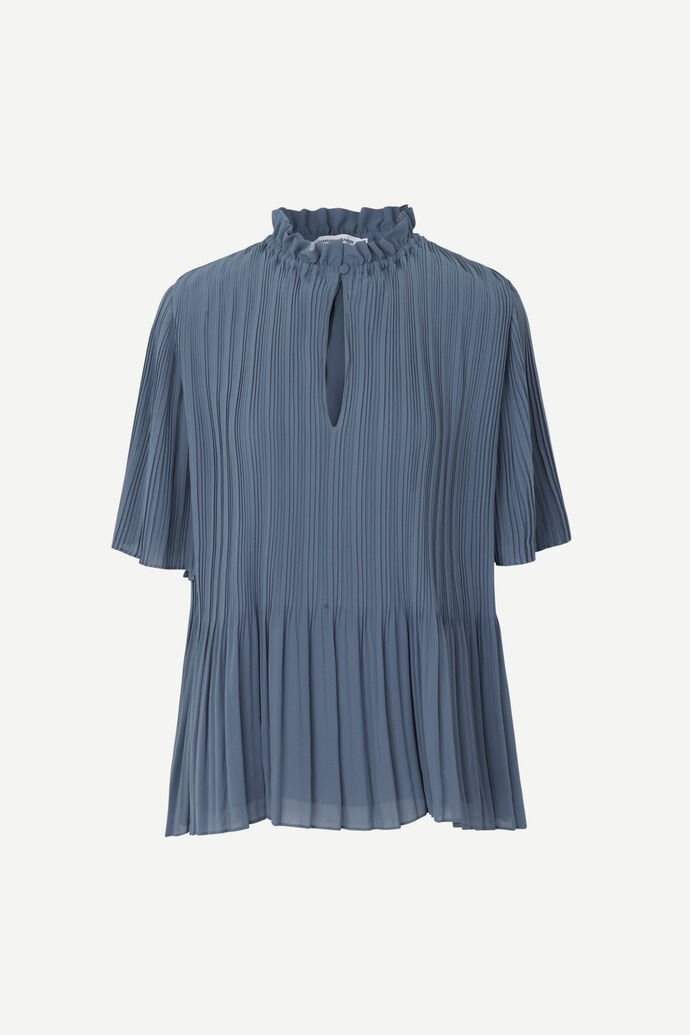 Lady ss blouse 6621, BLUE MIRAGE