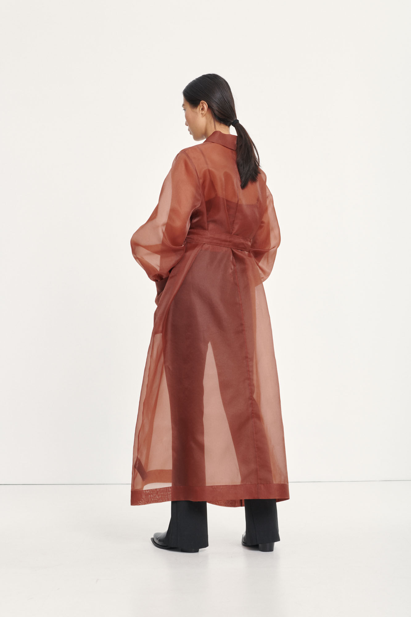 Chantara coat 12854, CINNAMON