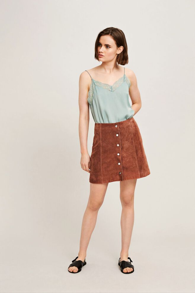 Lesso skirt 10040, DUSTY ROSE