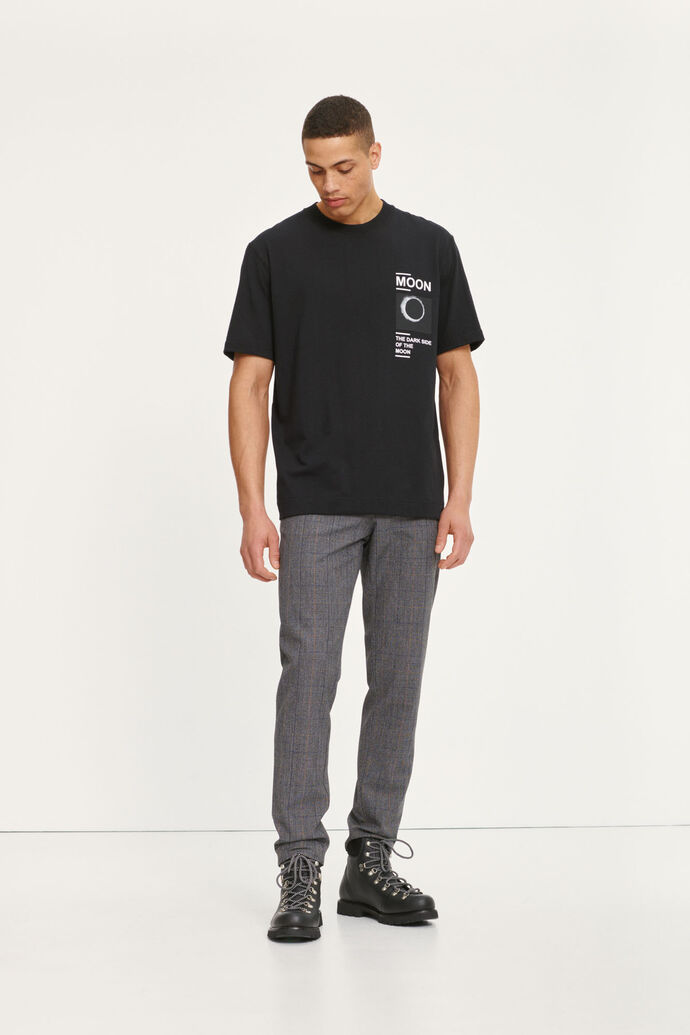 Moon t-shirt 11415, BLACK