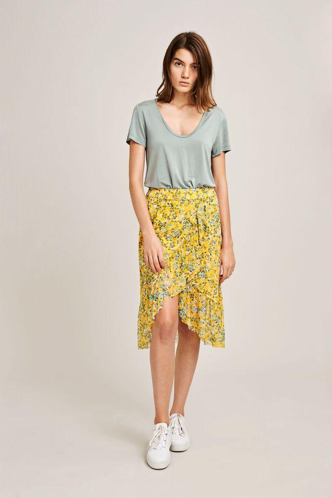Jayla skirt aop 8211, SOLEIL JARDIN
