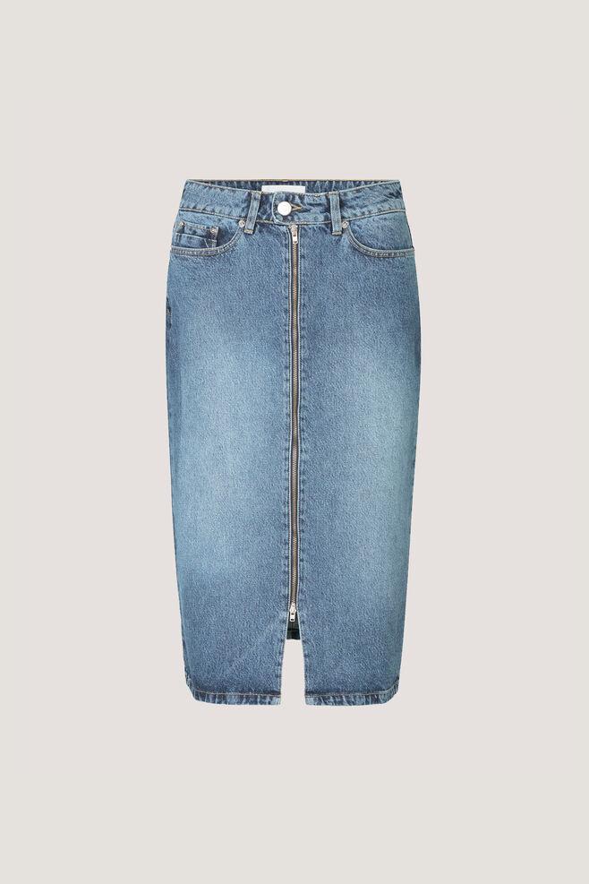 Pamela zip long skirt 9575