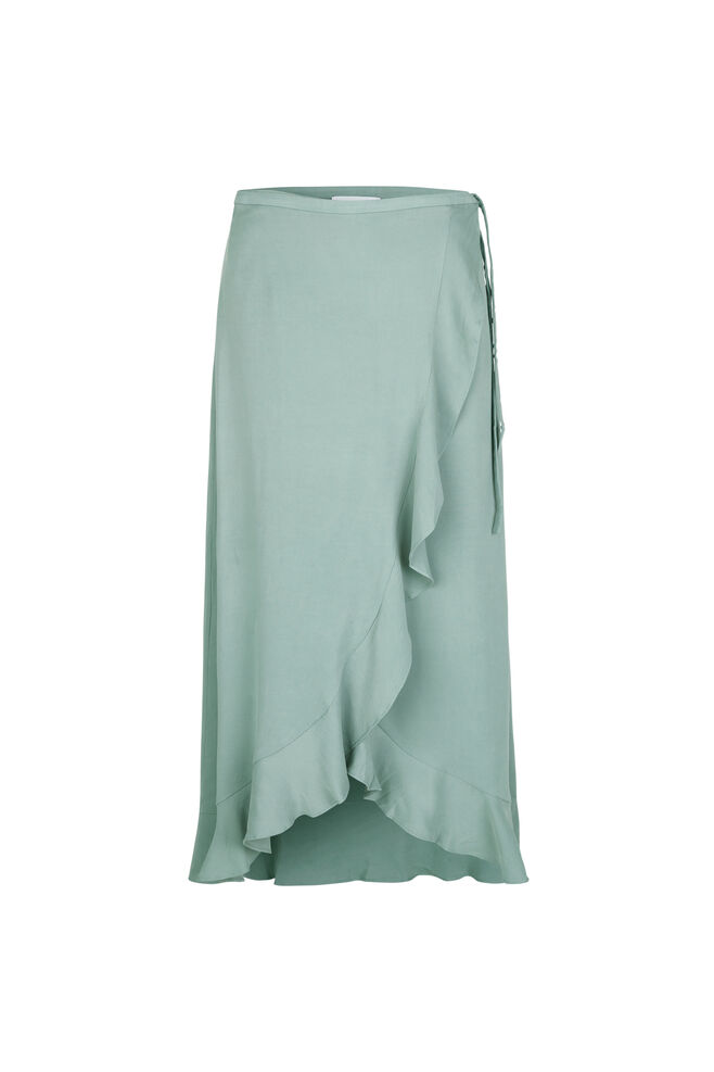 Limon l wrap skirt 9941, CHINOIS GREEN