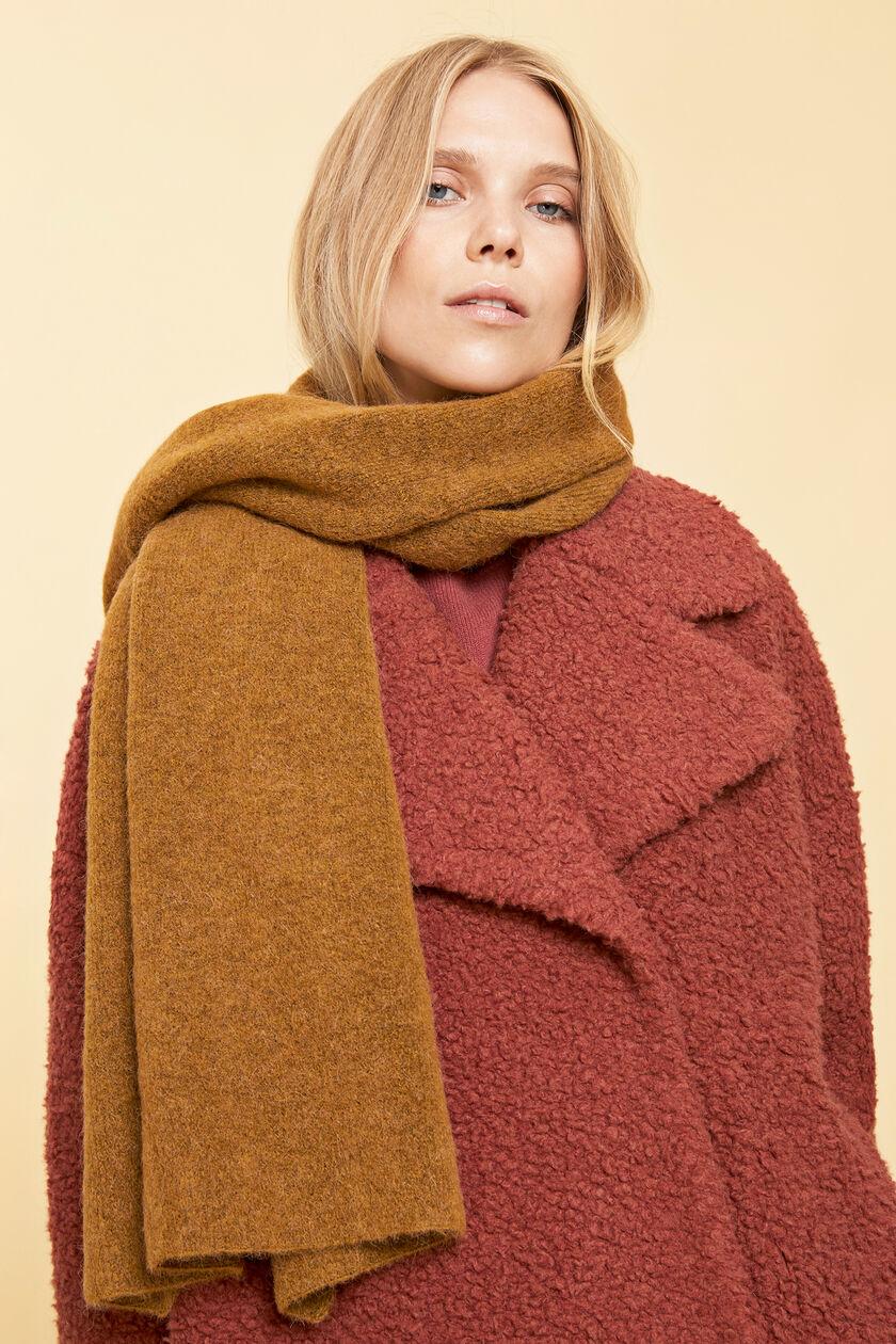 Nor scarf 7355, B GOLDEN MEL.