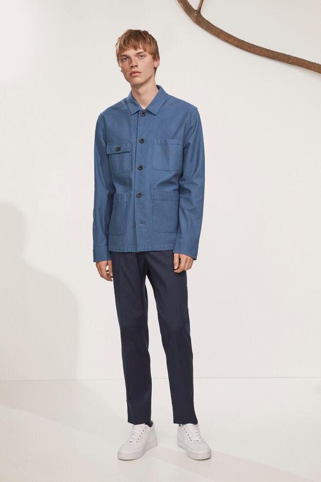Carpenter jacket 9517, DARK DENIM