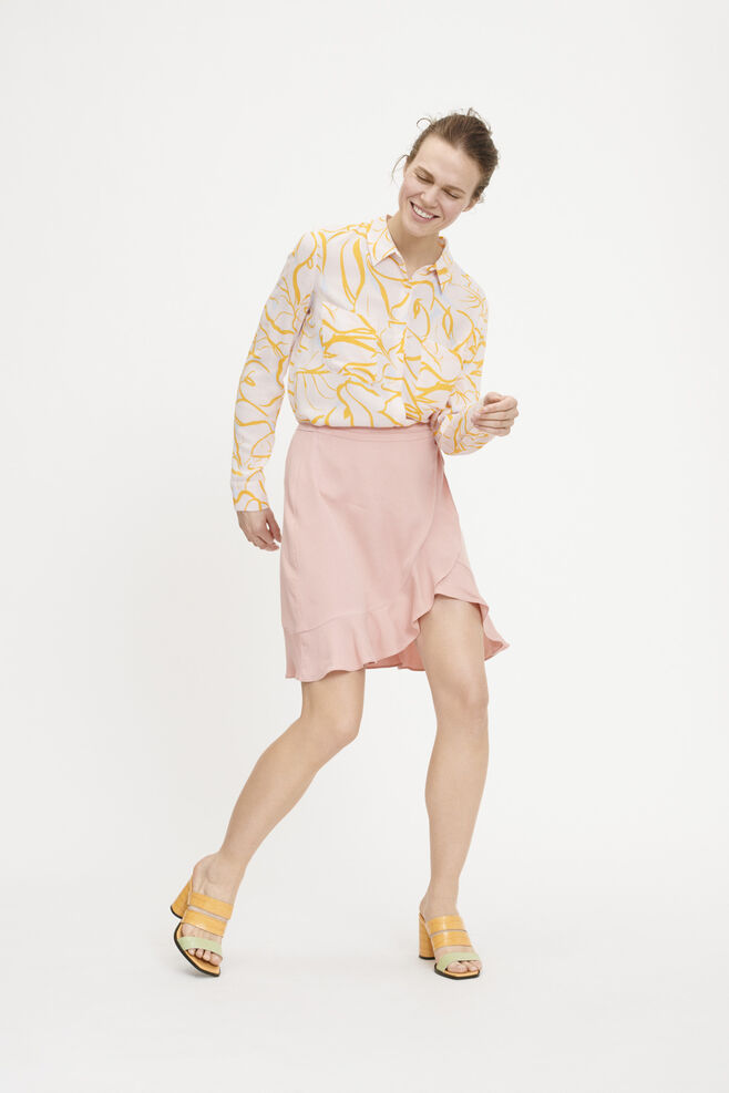 Limon short wrap skirt 9941