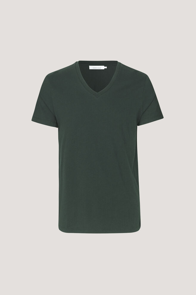 Marian male v-neck basic 273, DARKEST SPRUCE