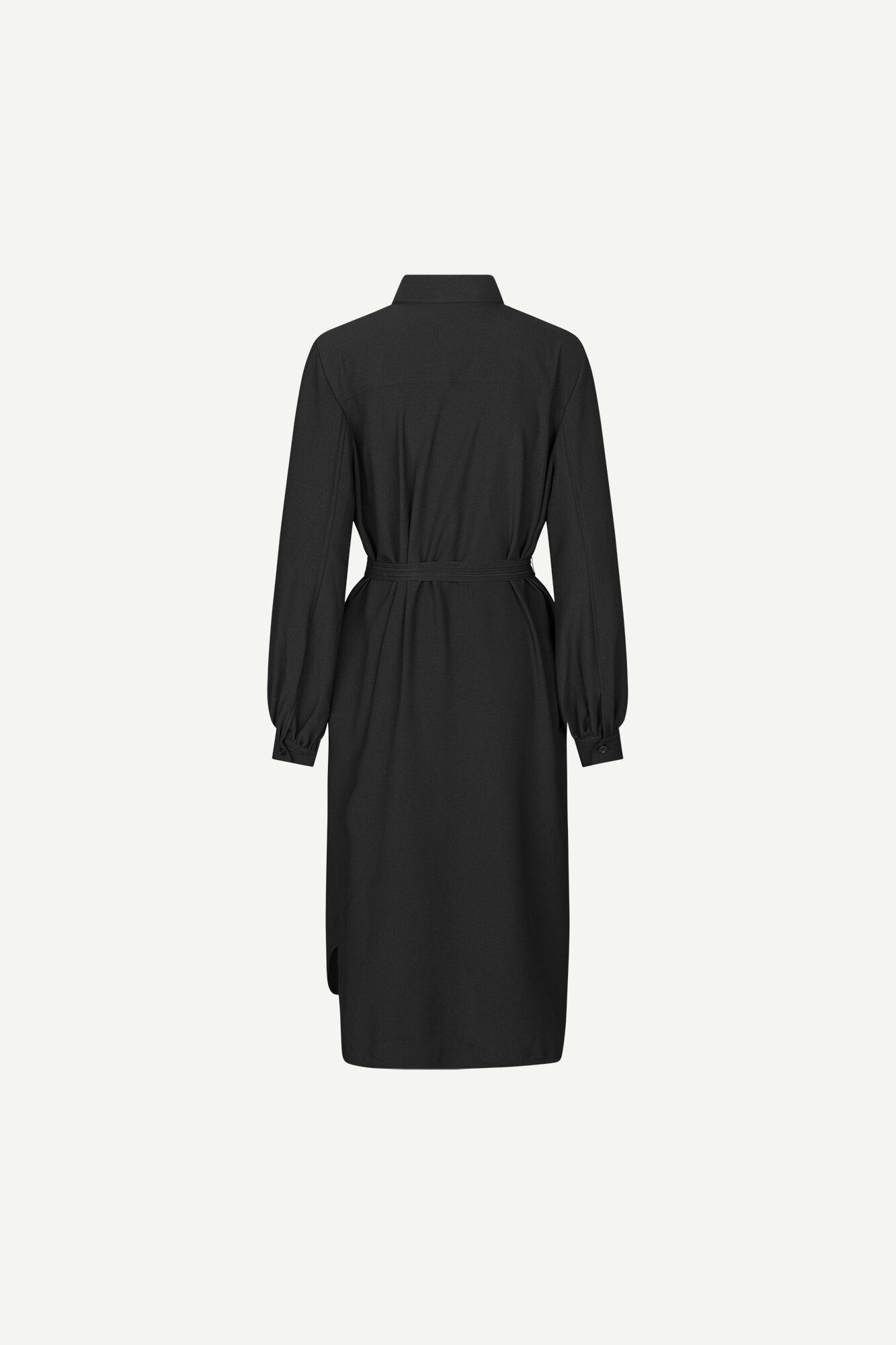 Camila shirt dress 12909, BLACK