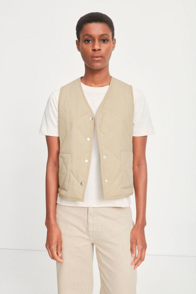 Blake vest 13166, BROWN RICE