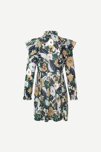 Martha short dress aop 11159