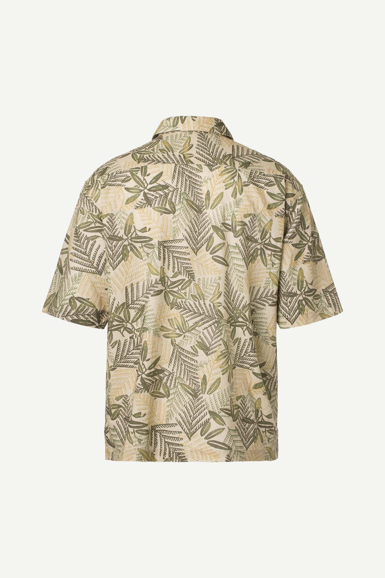 Ayo P shirt aop 6971, GOLD ALPINE