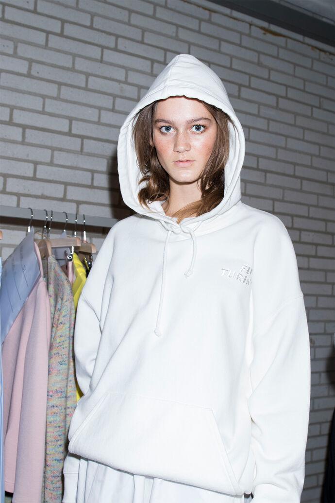 Camma hoodie aw 9916, CLEAR CREAM