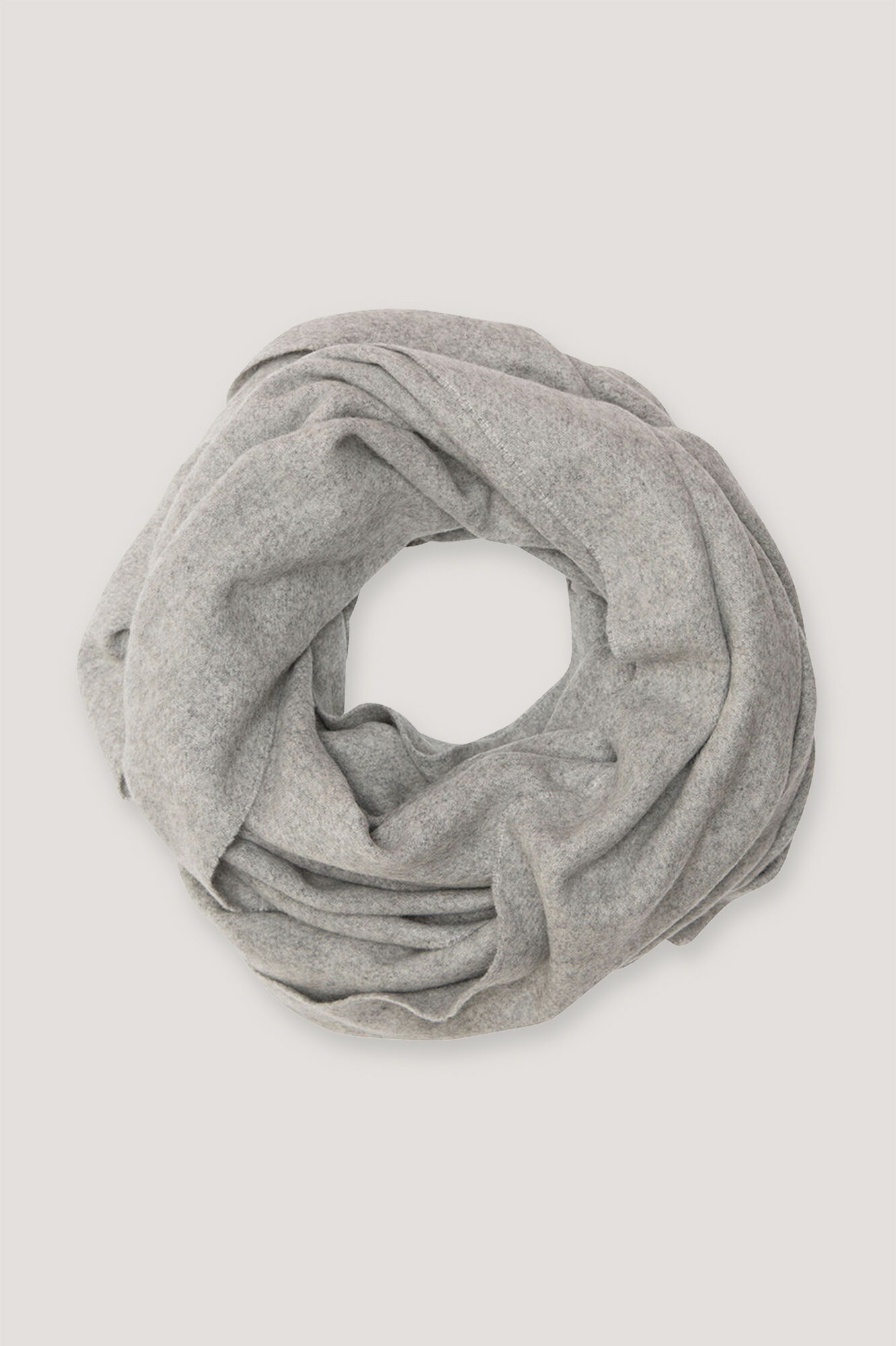 Accola maxi scarf 2862, GREY MEL.