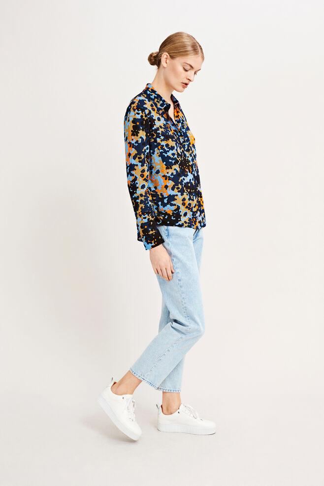 Milly shirt aop 7201, BRIGHT DOTCAMO