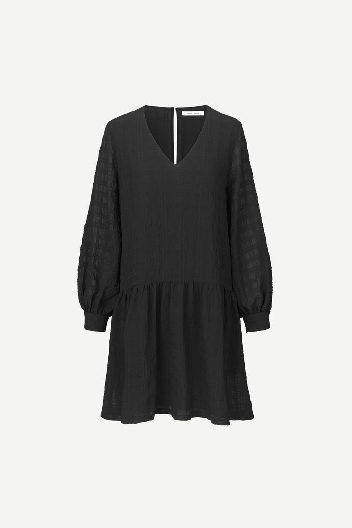 Millo ls dress 12890, BLACK