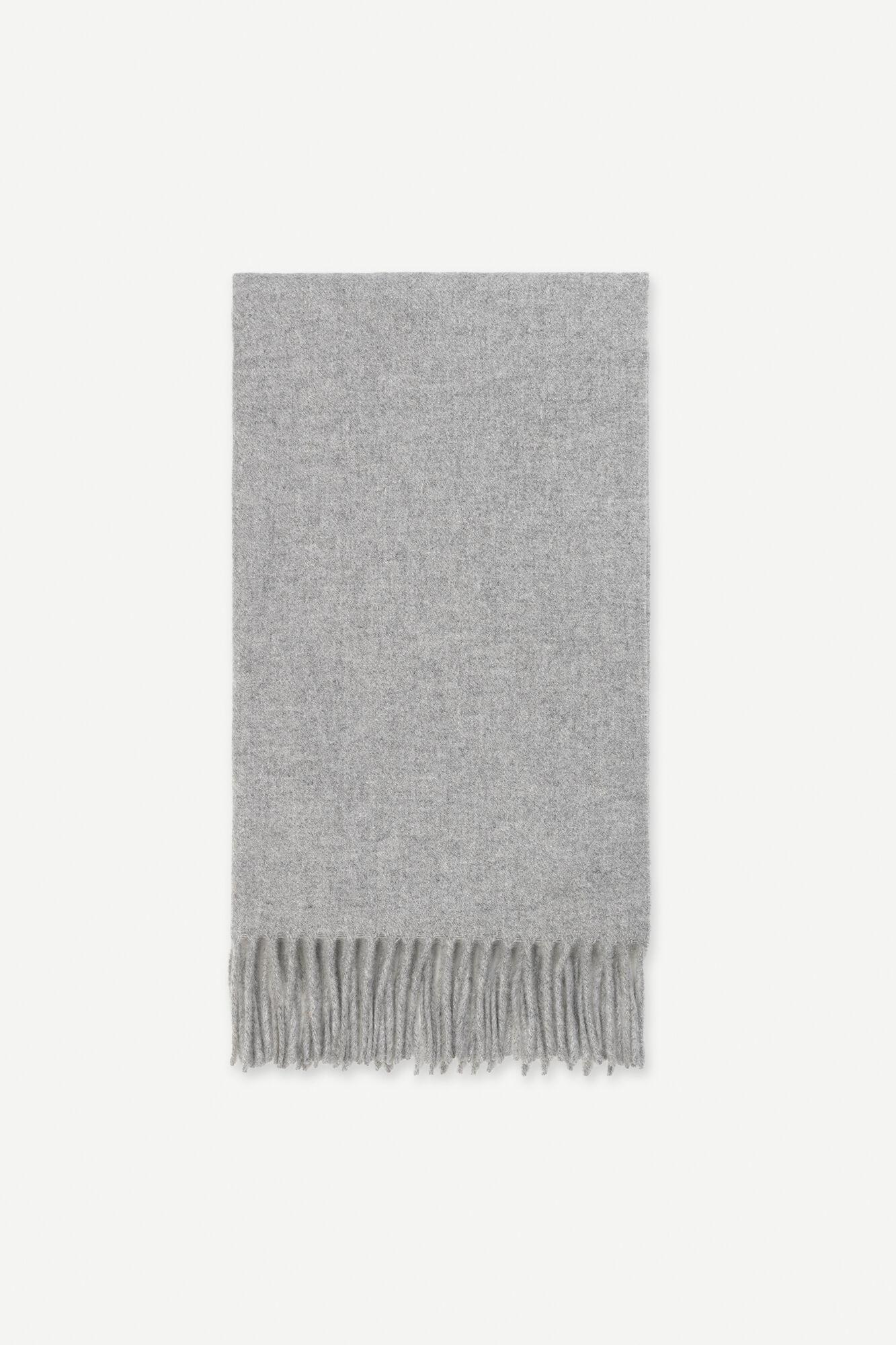 Efin scarf 2862, GREY MEL.