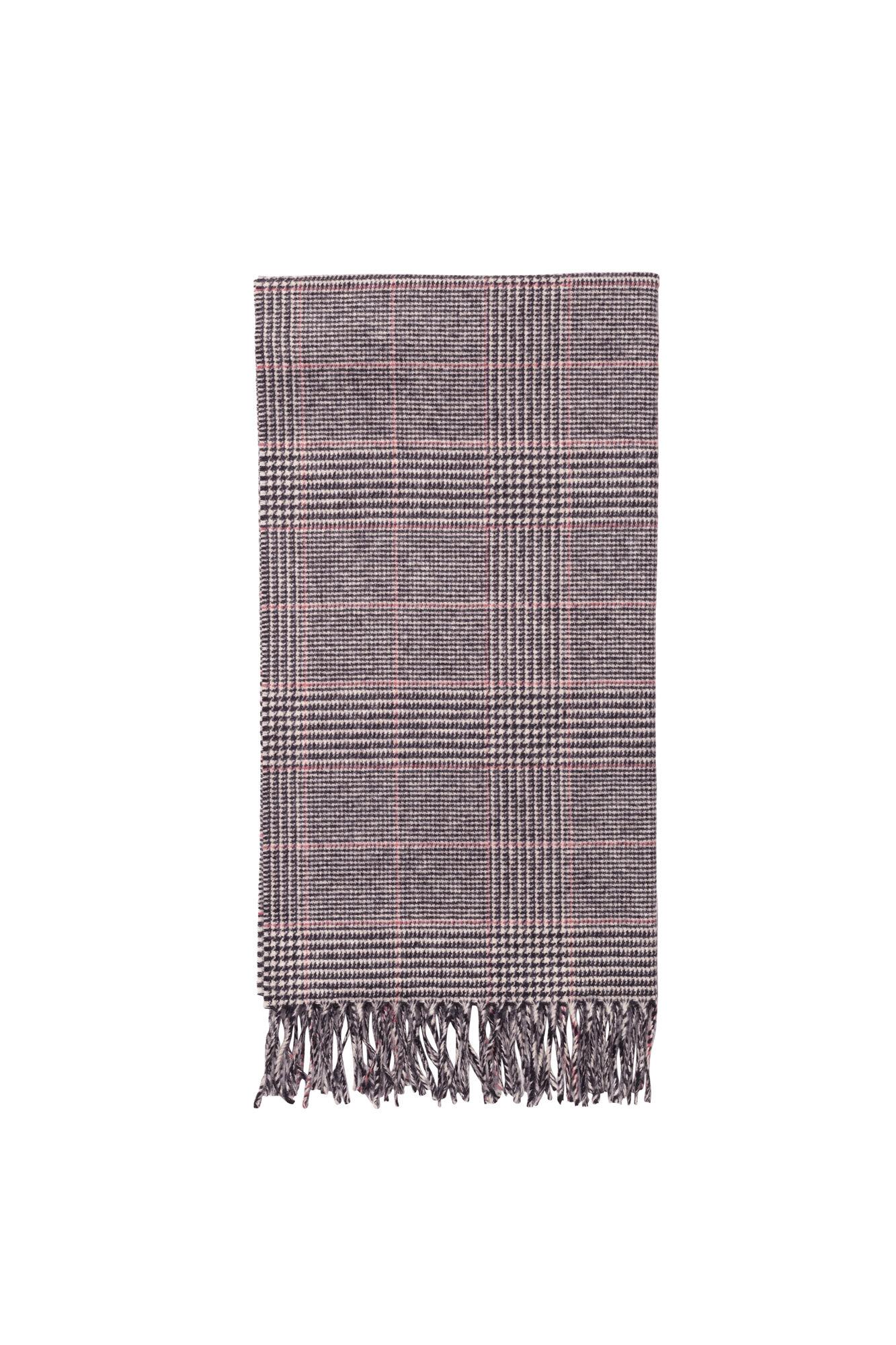 Accola scarf jac 2862, BLACK RED CH