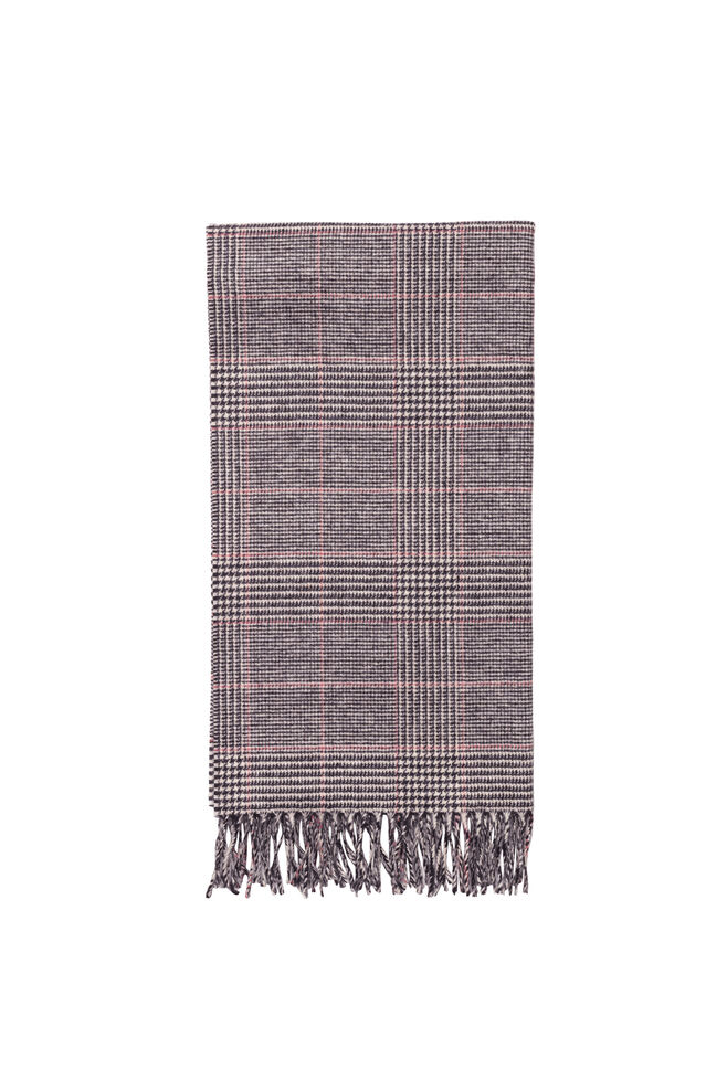 Accola scarf jac 2862, BLACK RED CH