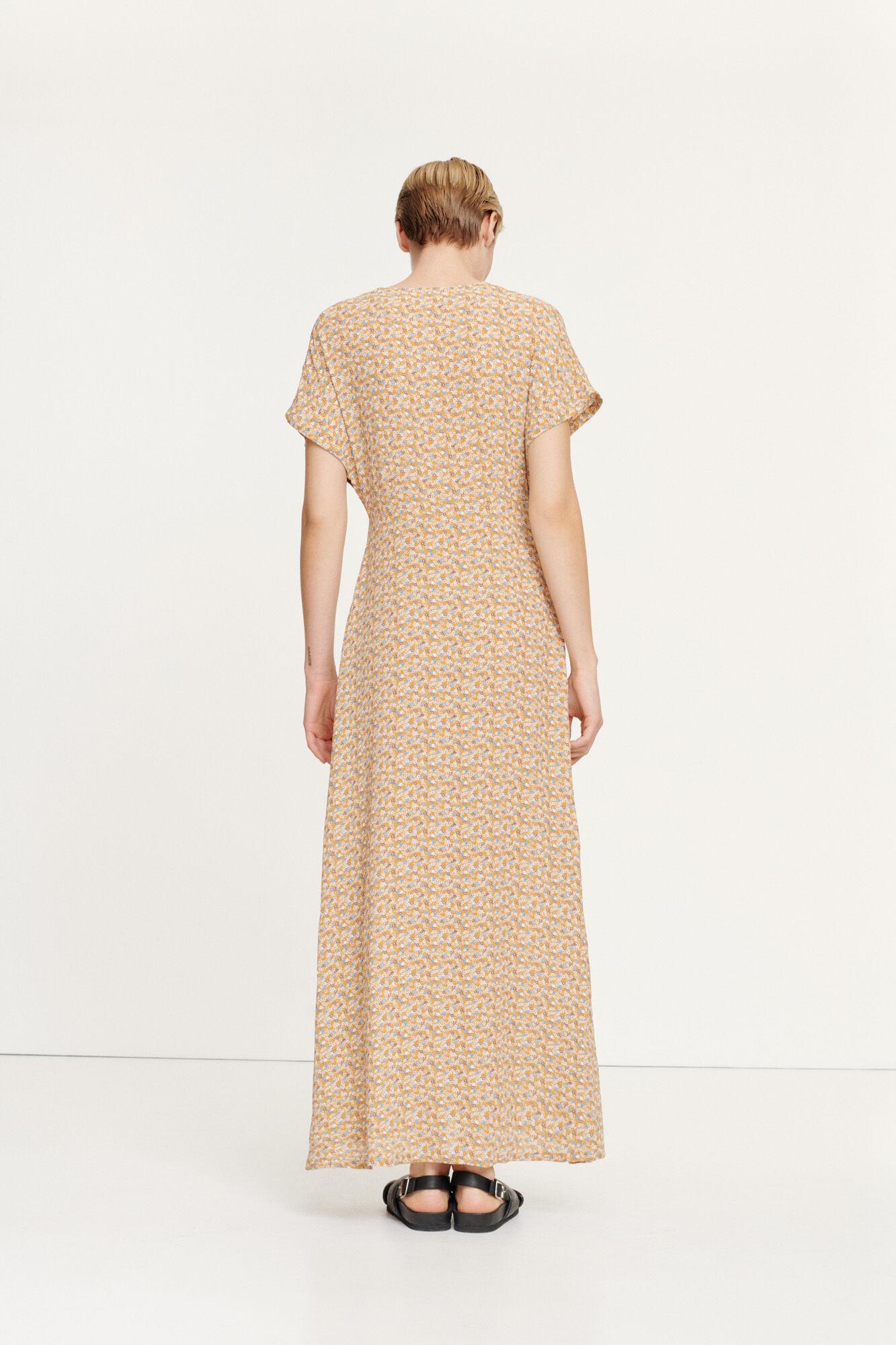 Valerie long dress aop 10867