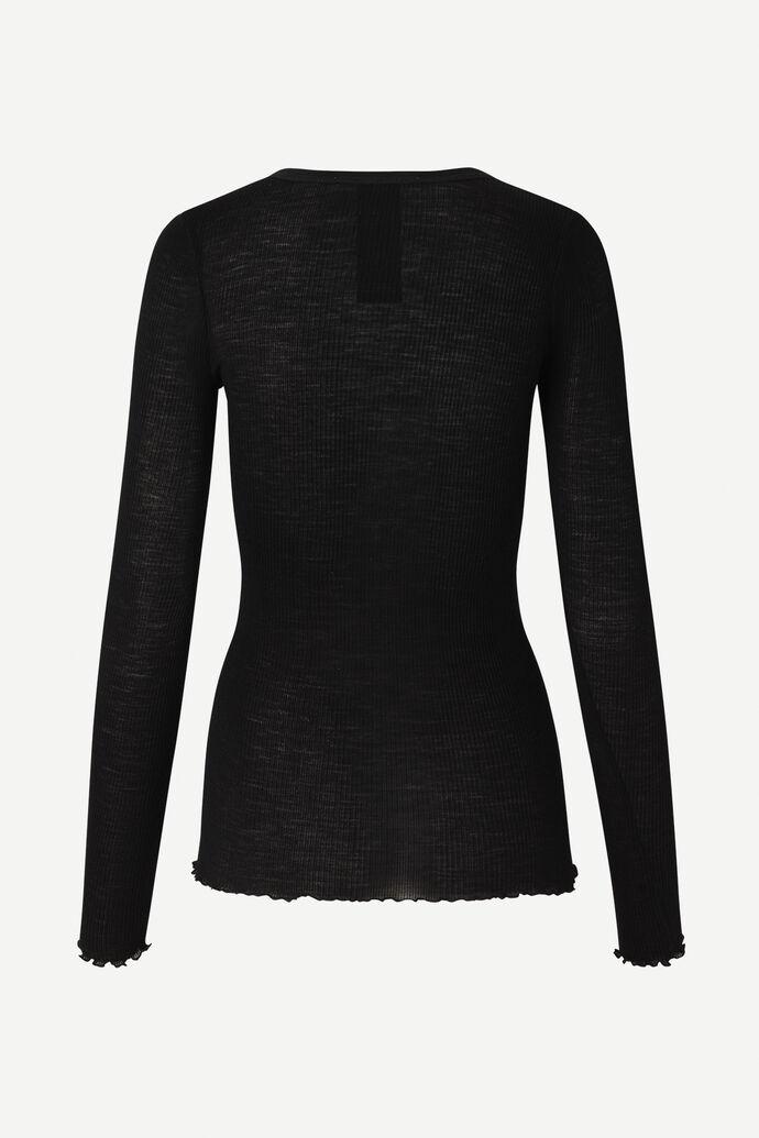 Doudo t-shirt ls 13020, BLACK numéro d'image 6