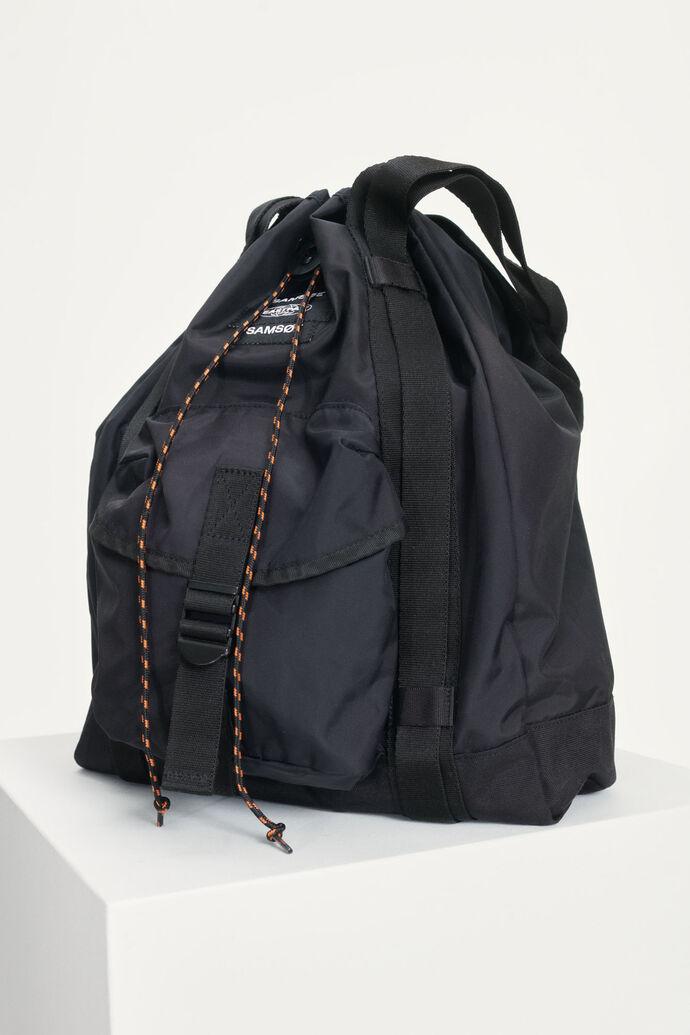 E Tote Bag 13052, BLACK