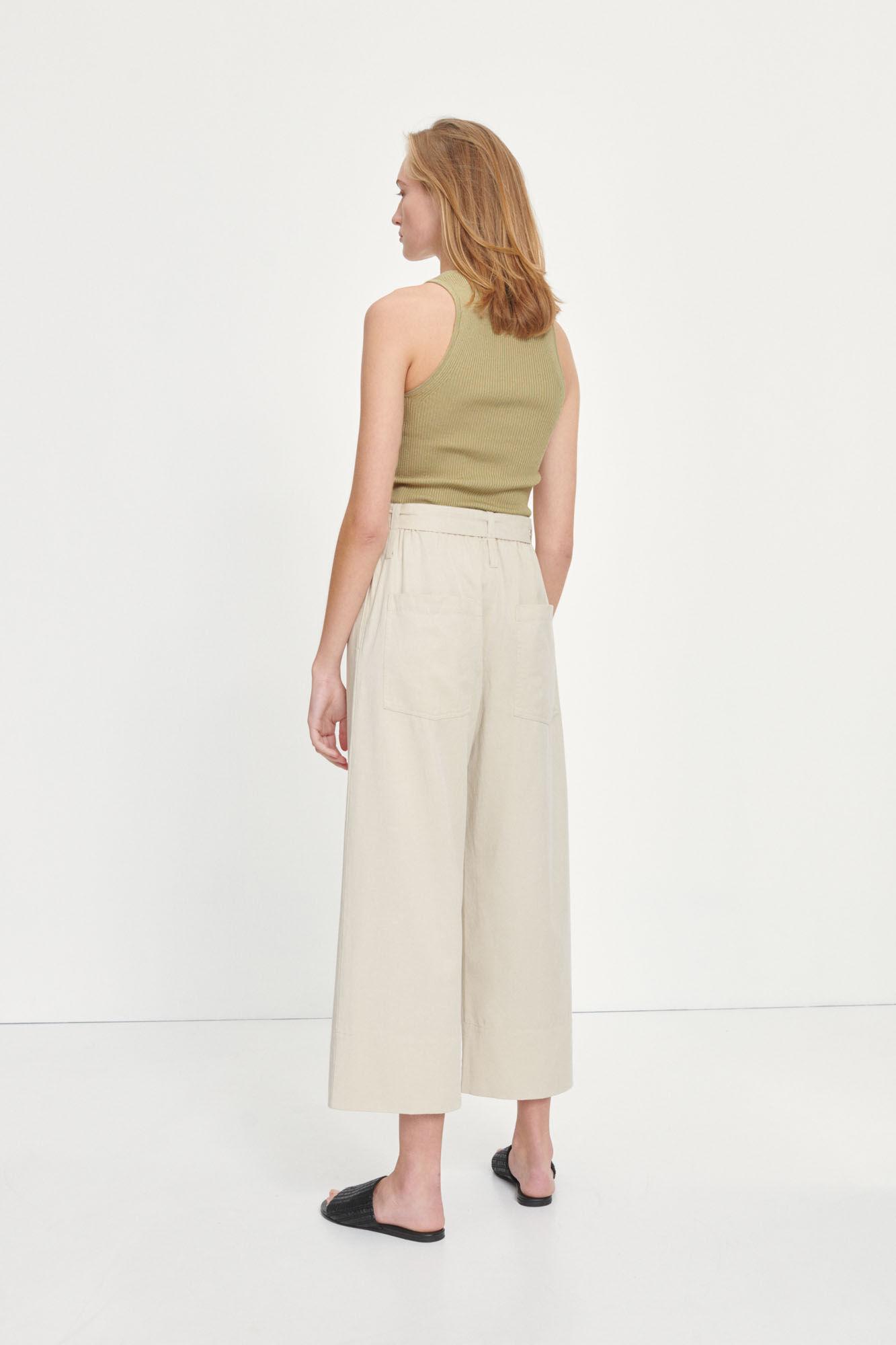 Milani trousers 11531, BROWN RICE