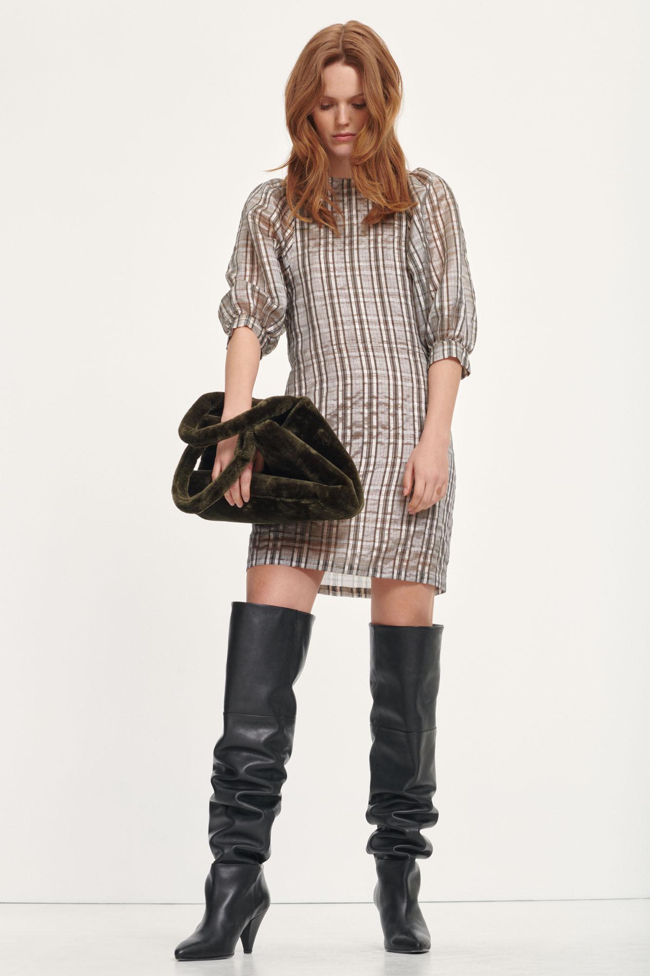 Celestine short dress 12773, GOLD CH.