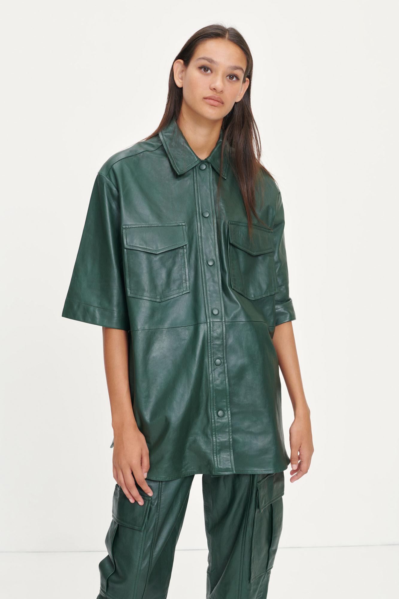 Georgina shirt 12896, KAMBU GREEN