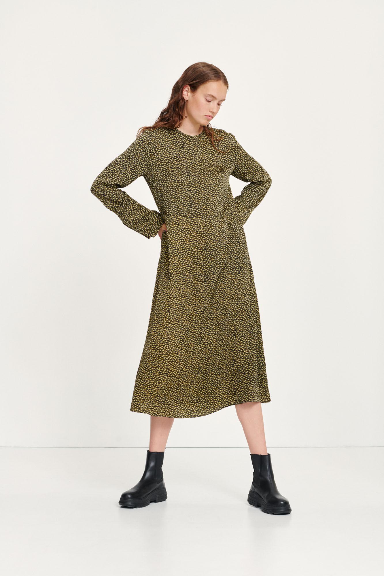 Rami dress aop 8325, WINTER TWIGGY