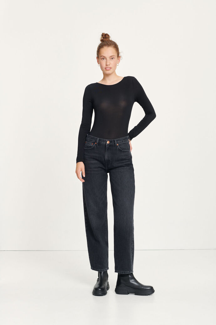 Elly jeans 13029, BLACK SNOW