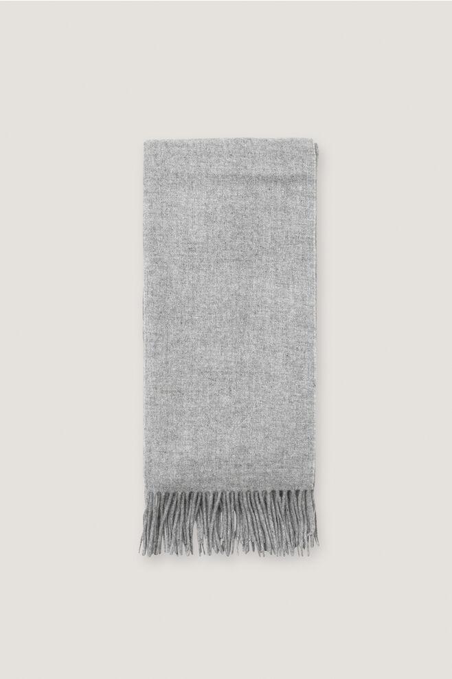Thilde scarf 5717, GREY MEL.