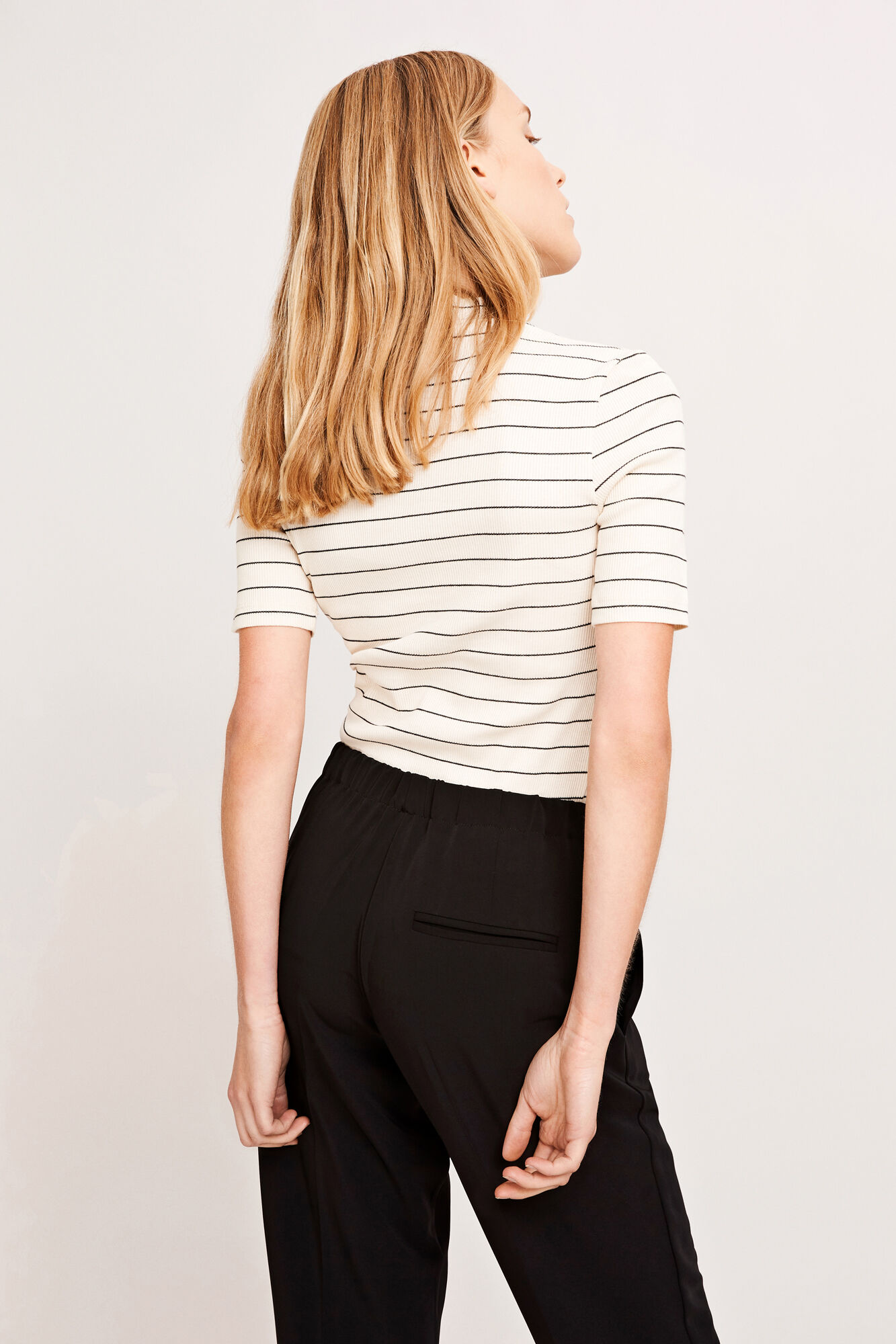 Neval ss stripe 6384, THIN BLACK