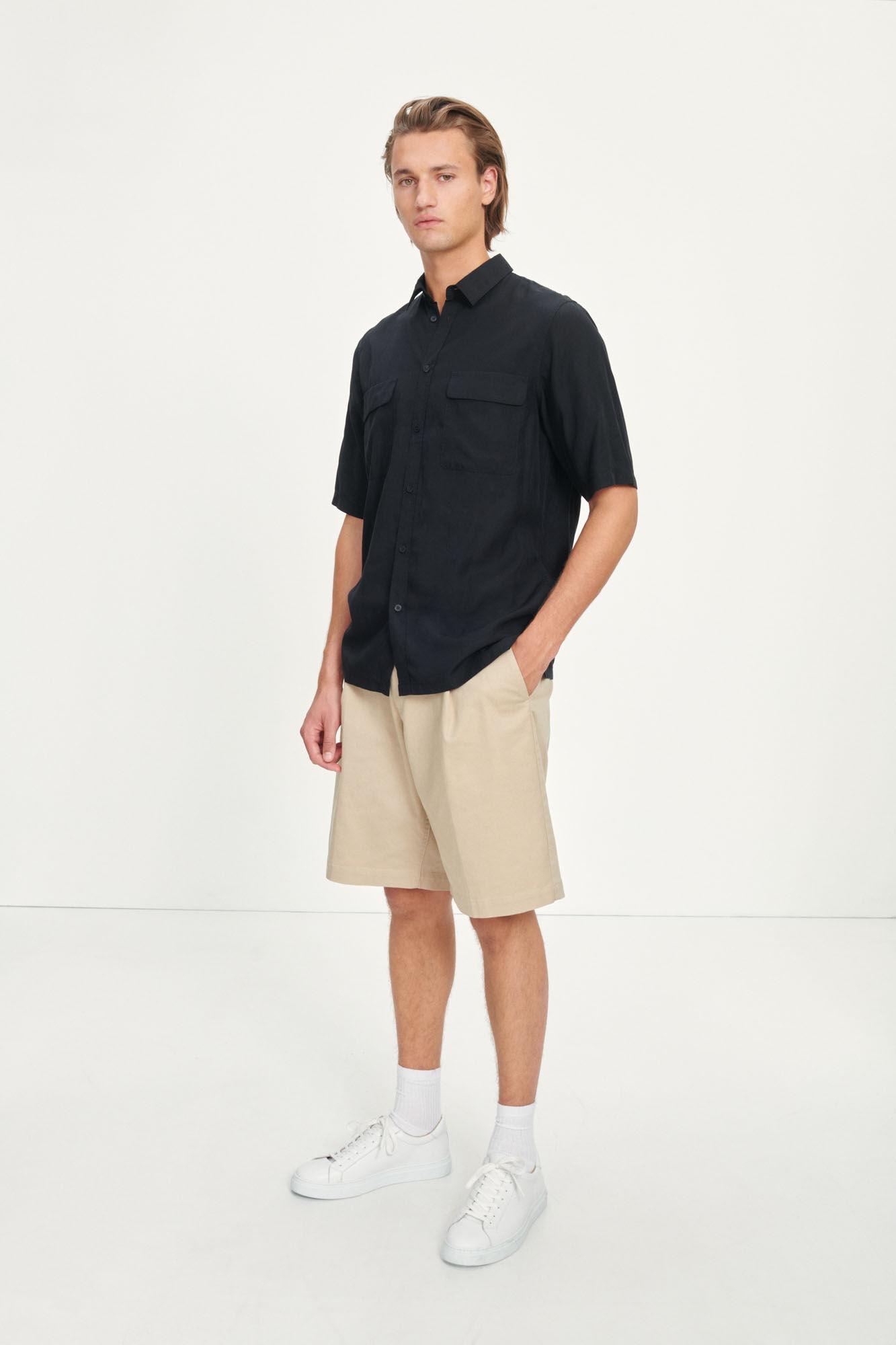 Taro NH shirt 12795, BLACK