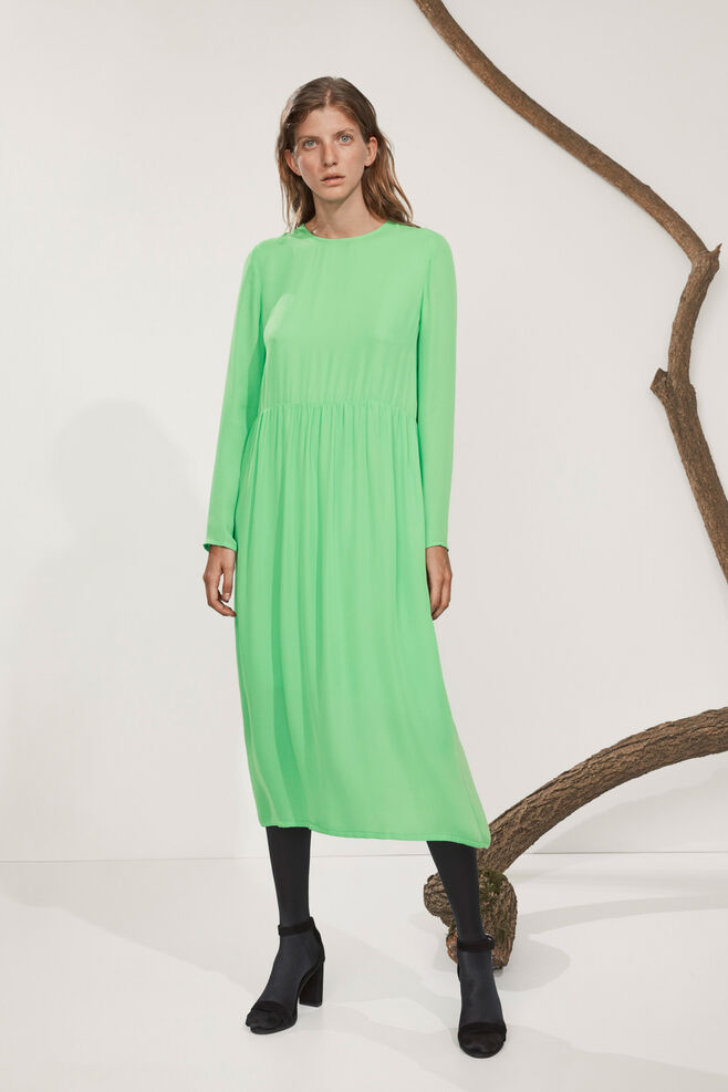 Raven dress 6434, CLASSIC GREEN