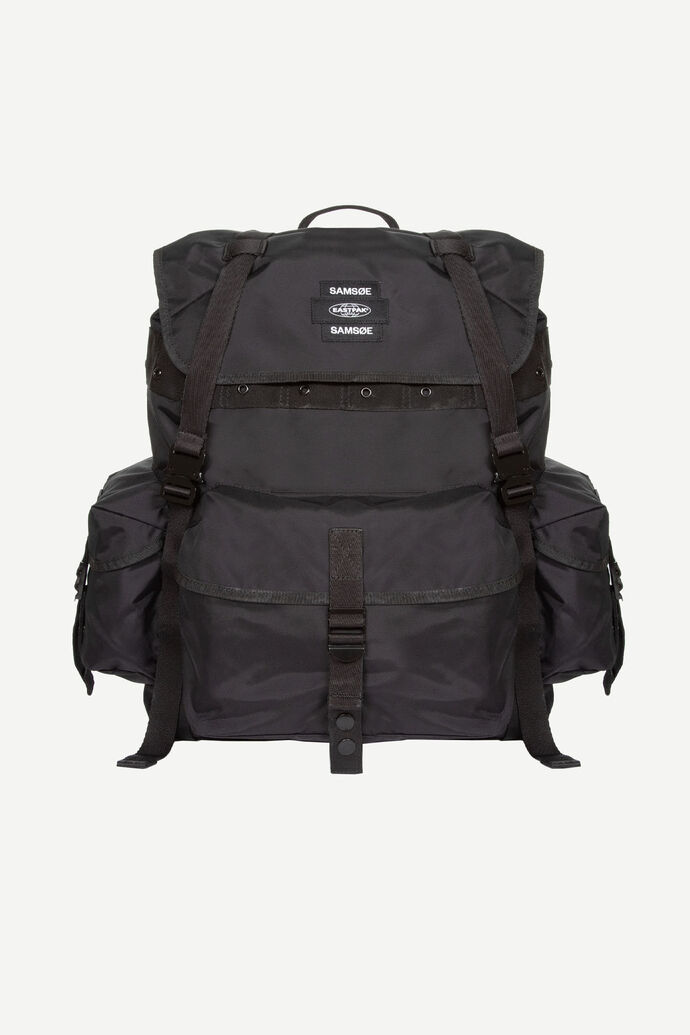E Big Backpack 13052, BLACK
