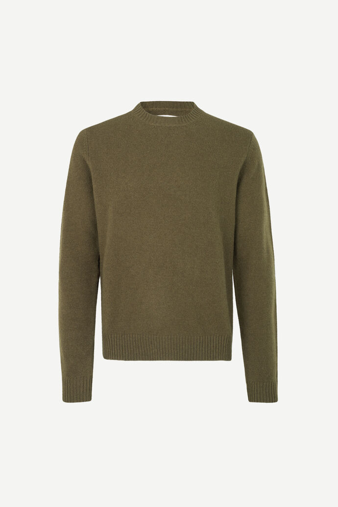Sylli crew neck 132, DARK OLIVE