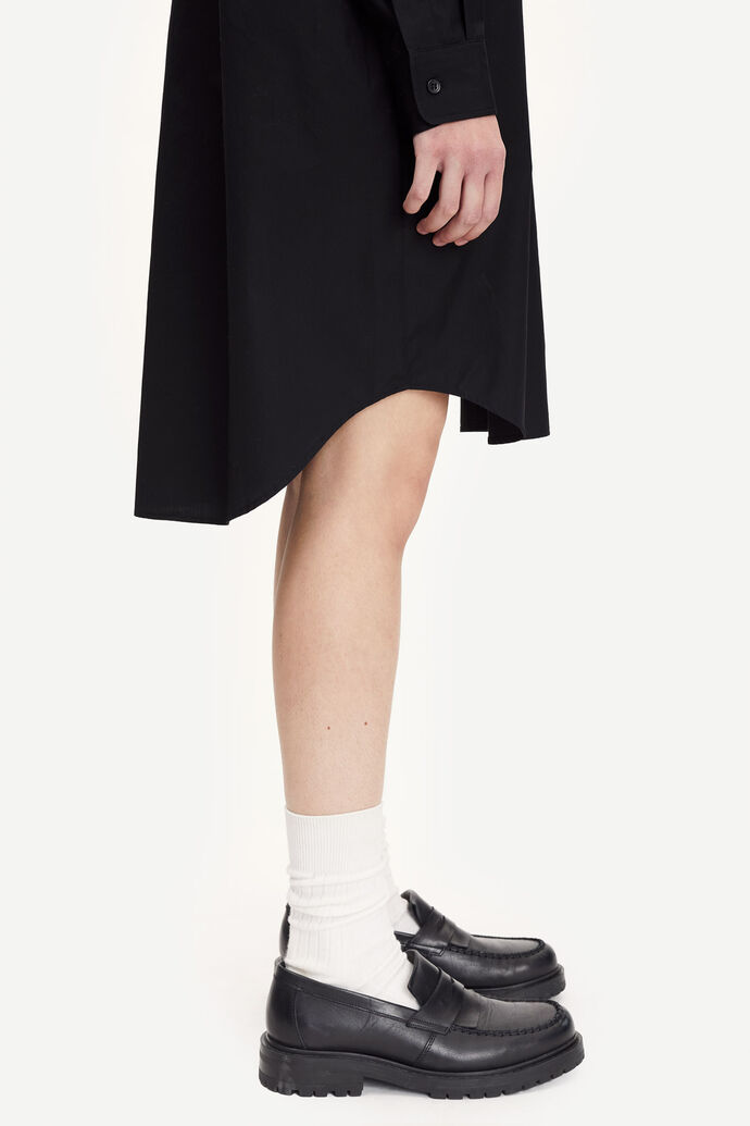 Luana shirt dress 11468, BLACK numéro d'image 1