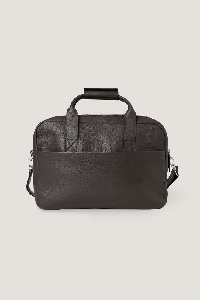 Miro briefcase double 3338, DARK BROWN