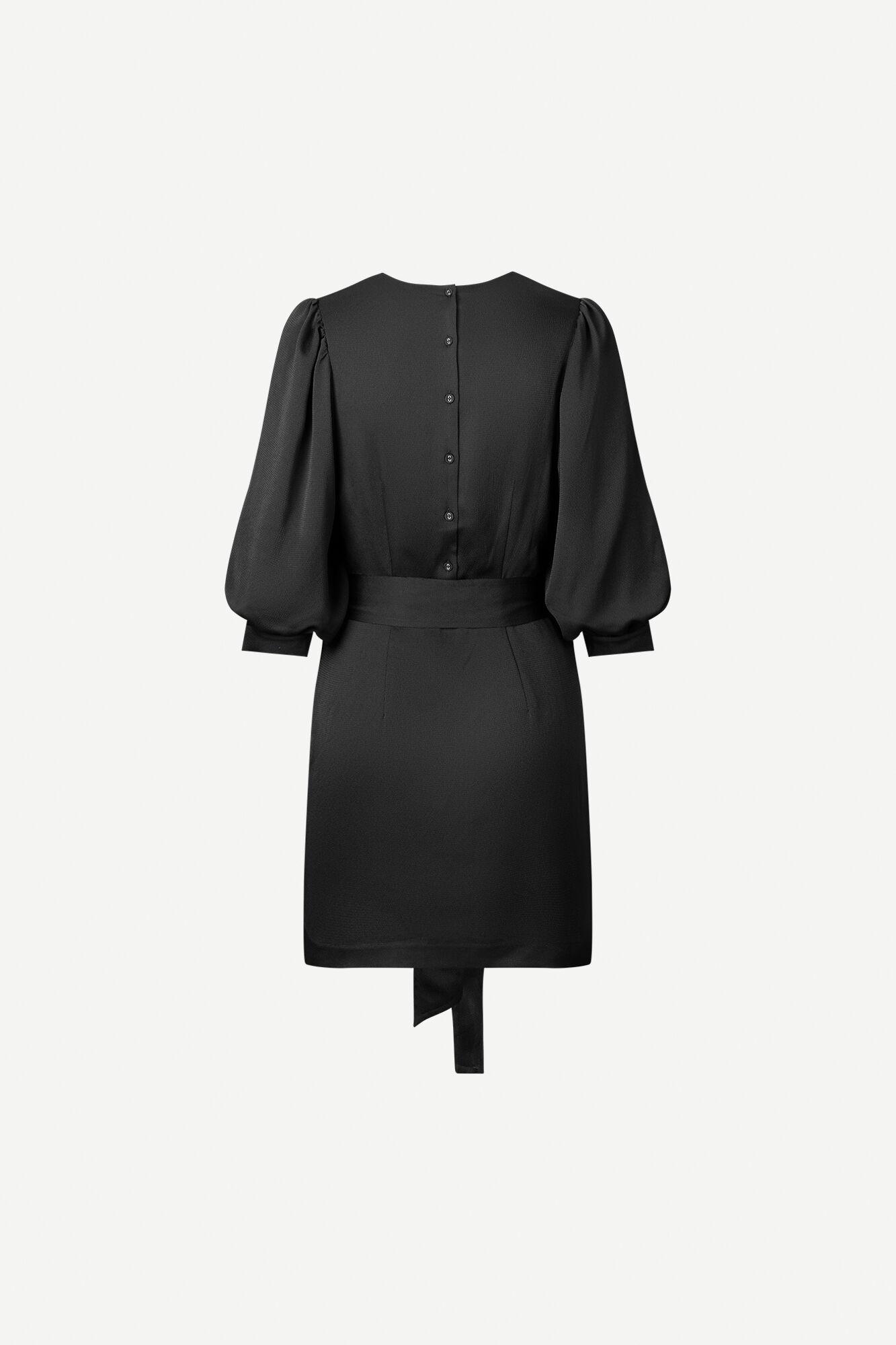 Henrietta dress 12775, BLACK