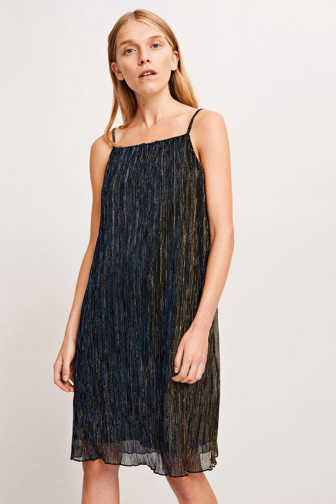 Gizem dress 8333, GOLD BLUE