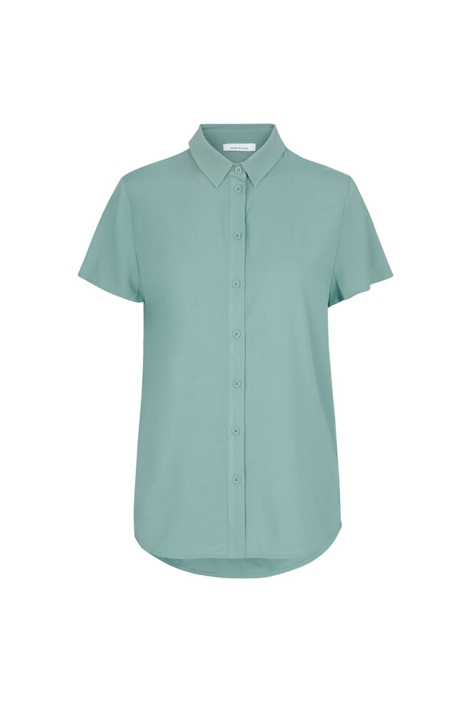 Maj ss shirt 9942, CHINOIS GREEN