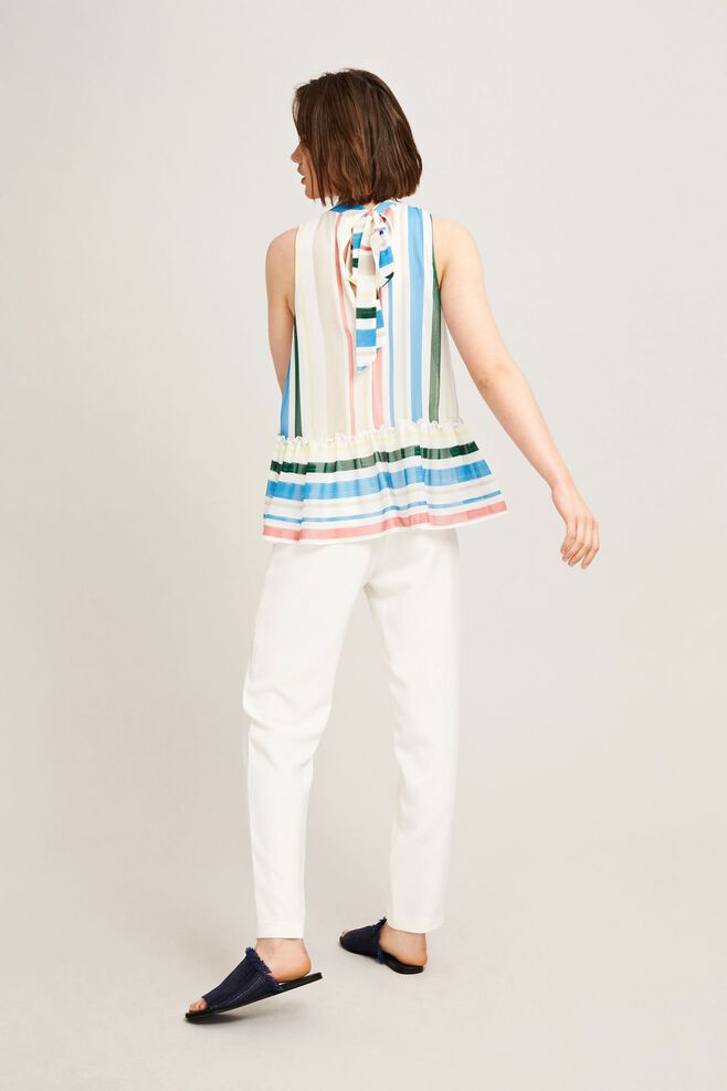 Sua top aop 9937, COTTAGE STRIPE