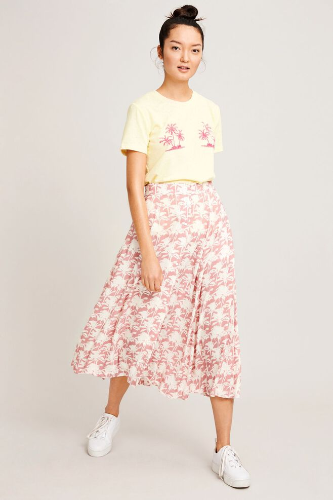 Bini skirt aop 9949, ROSE PALMIER
