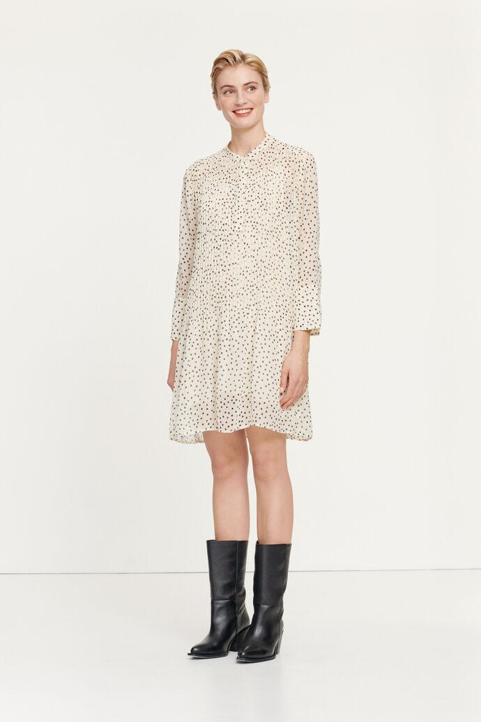 Elm short dress aop 9695, BLACK DROPS