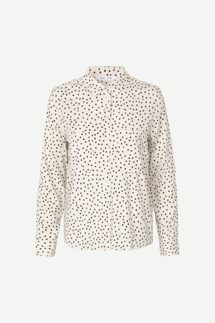 Milly shirt aop 9942, BLACK DROPS